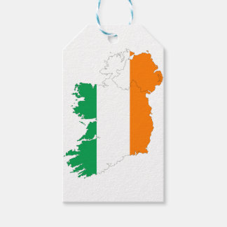Ireland Flag Map Gift Tags