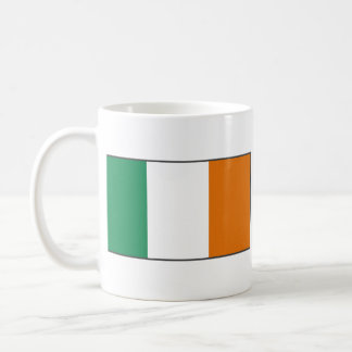Ireland Flag ~ Map Mug