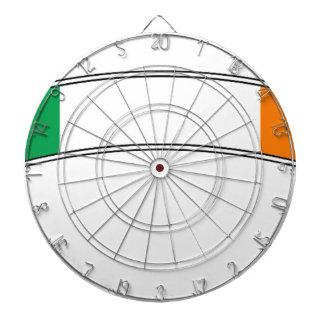 Ireland Flag Ribbon Dartboard