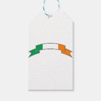 Ireland Flag Ribbon Gift Tags