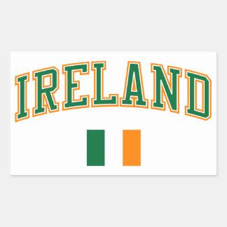 Ireland + Flag Sticker