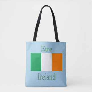 Ireland Flag Tote Bag