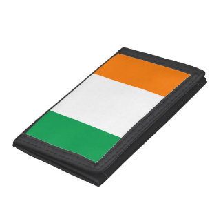 Ireland Flag Tri-fold Wallets