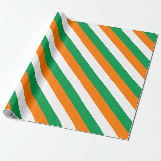 ireland-Flag Wrapping Paper