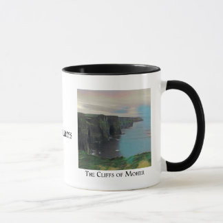 Ireland for Holidays - Moher and Kerry Cliffs Mug
