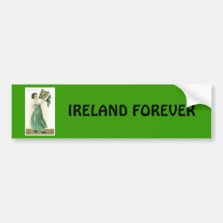 IRELAND FOREVER BUMPER STICKER