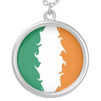 Ireland Gnarly Flag Personalized Necklace