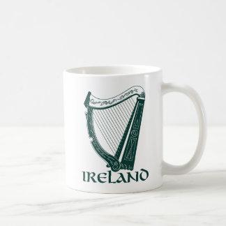 Ireland Harp Design, Irish Harp Coffee Mug