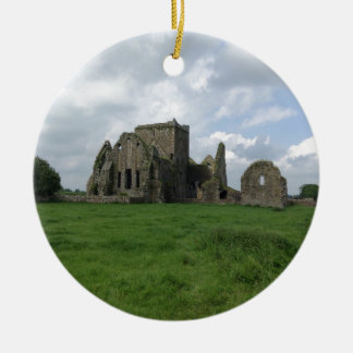 Ireland Hore Abbey Irish Ruins Rock of Cashel Ceramic Ornament