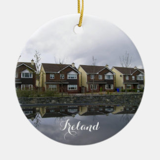 Ireland houses estate. ceramic ornament