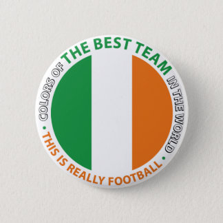 Ireland Ireland Art Shield 2 Inch Round Button