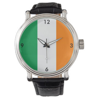 Ireland Irish Flag Green White Orange Watch