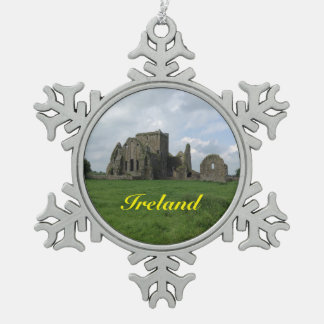 Ireland Irish Hore Abbey Christmas Ornament