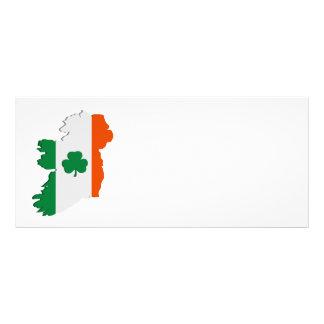 Ireland map customized rack card