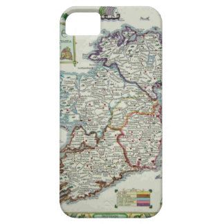 Ireland Map - Irish Eire Erin Historic Map Case For The iPhone 5