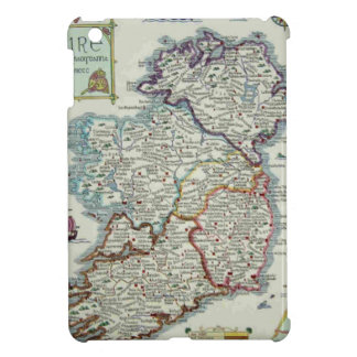 Ireland Map - Irish Eire Erin Historic Map iPad Mini Cover