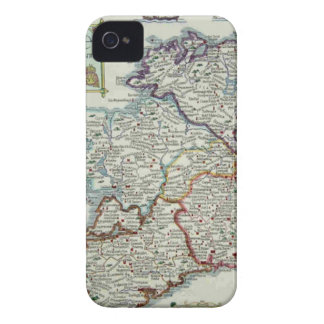 Ireland Map - Irish Eire Erin Historic Map iPhone 4 Case-Mate Case
