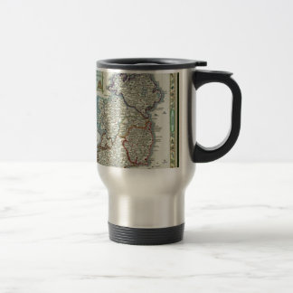 Ireland Map - Irish Eire Erin Historic Map Travel Mug