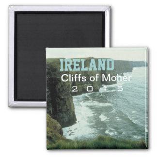 Ireland Moher Cliffs Souvenir Magnet Change Year