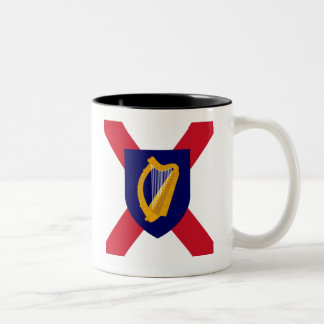 Ireland Mug - Cross & Harp Shield