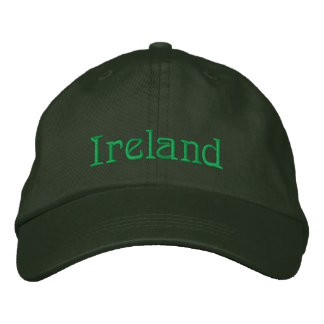 IRELAND Name Designer Cap Embroidered Hat