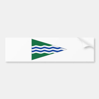 Ireland National Yacht Club Ensign Bumper Stickers