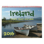 Ireland Oceans, Rivers and Lakes 2016 Calendar