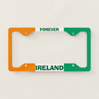 Ireland Patriotic License Plate Frame