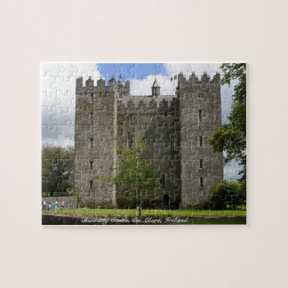 Ireland puzzle, Bunratty Castle, Co. Clare Jigsaw Puzzle