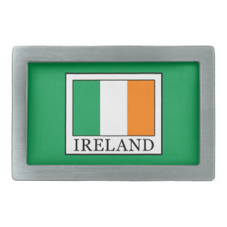 Ireland Rectangular Belt Buckles