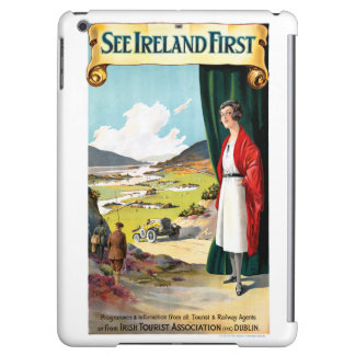 Ireland Restored Vintage Travel Poster Cover For iPad Air