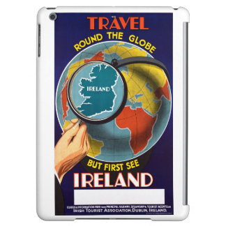 Ireland Restored Vintage Travel Poster iPad Air Cases