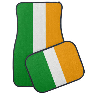 Ireland ROI Irish Tricolor Flag Car Mat