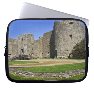 Ireland, Roscommon. View of ruins of Roscommon Laptop Computer Sleeve
