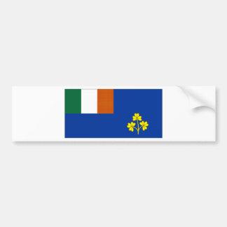 Ireland Royal Cork Yacht Club Ensign Bumper Sticker