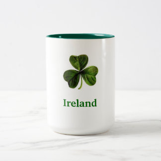 Ireland Shamrock - Coffee Mug (Large)