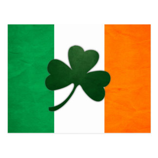 Ireland Shamrock Postcard