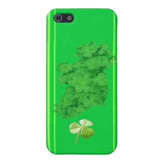 Ireland Shamrock Stripes by Kenneth Yoncich iPhone 5/5S Cover