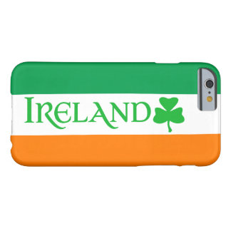 Ireland Shamrock Symbol on Irish Flag Colors Barely There iPhone 6 Case
