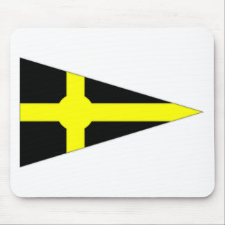Ireland Skerries Sailing Club Ensign Mouse Pad