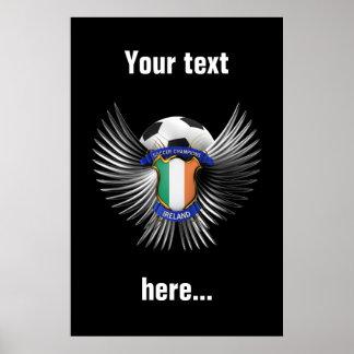 Ireland Soccer Champions Poster