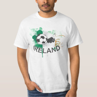 Ireland soccer Football and soccer cleat T-Shirt