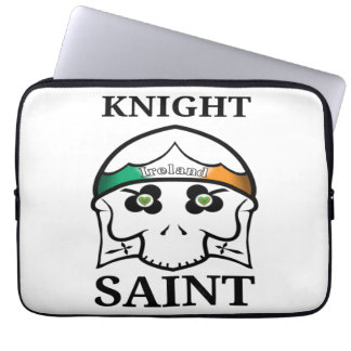 Ireland St Patrick's Day Knight Saint Computer Sleeve