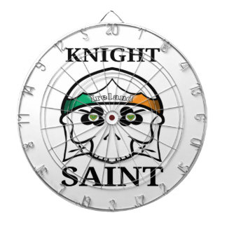 Ireland St Patrick's Day Knight Saint Dartboard