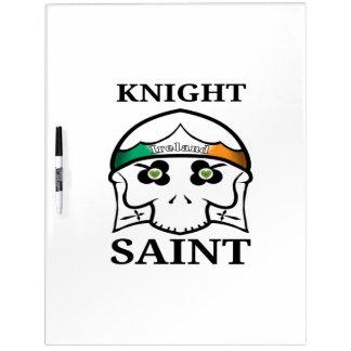 Ireland St Patrick's Day Knight Saint Dry Erase Board