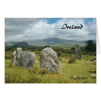 Ireland Stone Circle SW Cork Card