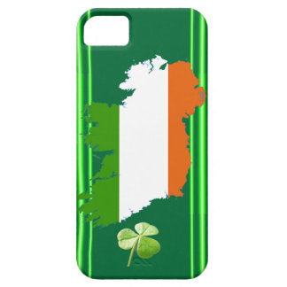 Ireland Stripes (Solid) by Kenneth Yoncich iPhone 5 Case