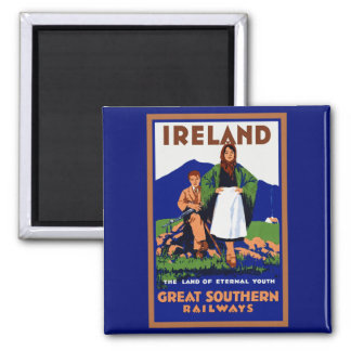 Ireland ~ The Land of Eternal Youth Magnet
