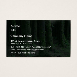 Ireland Tons Of Wild Flowers Ancient Tombs Dark Mo Business Card