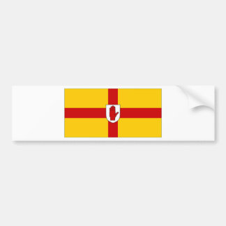 Ireland Ulster Flag Bumper Sticker